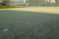 Astro-turf football pitch